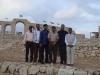 6 Indian flags at Jerash